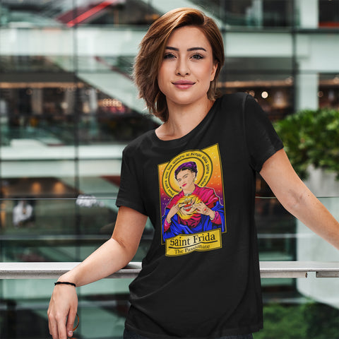 Saint Frida The Passionate T-Shirt-T-Shirts-Cleaverandblade.com