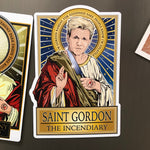 Saint Gordon The Incendiary Magnet-Magnets-Cleaverandblade.com