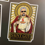 Saint Guy The Lord of Flavortown Magnet-Magnets-Cleaverandblade.com