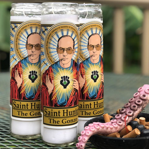 Saint Hunter The Gonzo Candle-Candles-Cleaverandblade.com