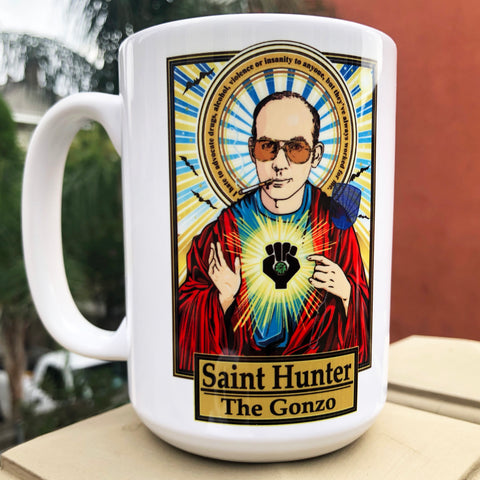 Saint Hunter The Gonzo Coffee/Chivas Mug-Coffee Mugs-Cleaverandblade.com
