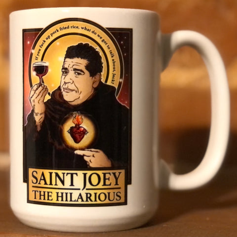 Saint Joey The Hilarious Coffee Mug-Coffee Mugs-Cleaverandblade.com