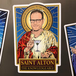 Saint Alton The Knowledgeable Magnet-Magnets-Cleaverandblade.com