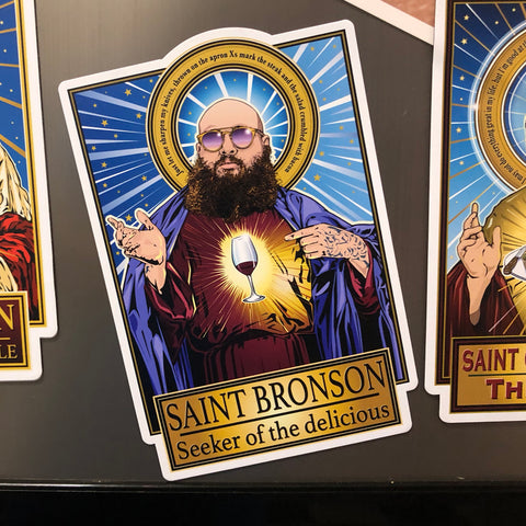 Saint Bronson Seeker of the delicious Magnet-Magnets-Cleaverandblade.com