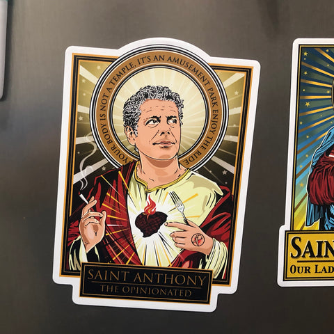 Saint Anthony The Opinionated Magnet-Magnets-Cleaverandblade.com