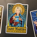 Our Lady of Domestic Bliss Magnet-Magnets-Cleaverandblade.com