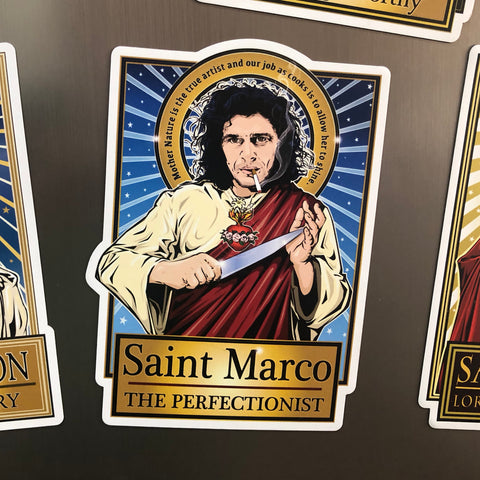 Saint Marco The Perfectionist Magnet-Magnets-Cleaverandblade.com
