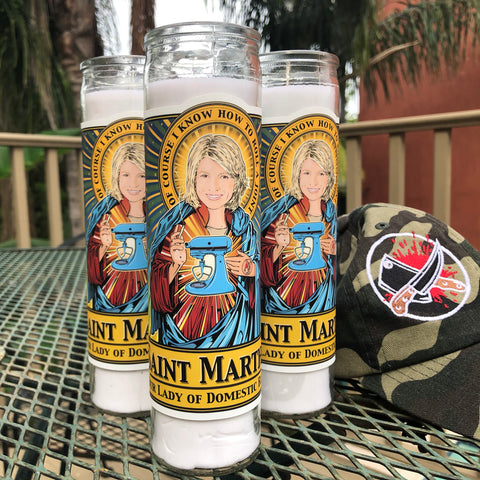 Saint Martha Our Lady of Domestic Bliss Candle-Candles-Cleaverandblade.com