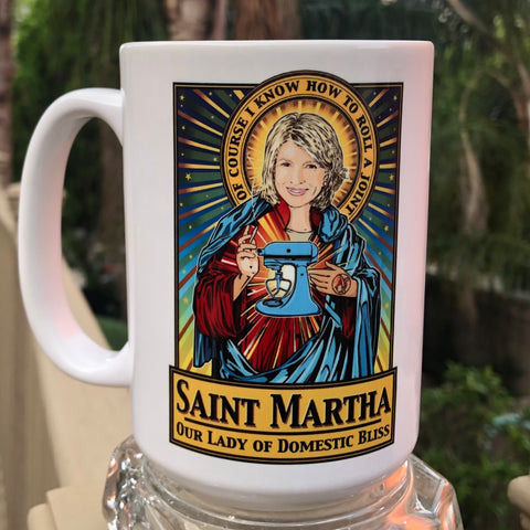 Saint Martha Hot Toddy Mug-Coffee Mugs-Cleaverandblade.com
