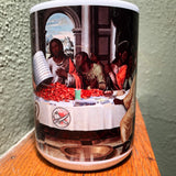 Last Crawfish Boil Black Jesus Coffee/Whiskey Mug