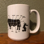 Ninja Butcher Coffee/Whiskey Mug