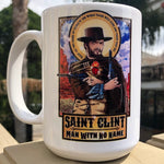 Saint Clint Man With No Name Coffee Mug
