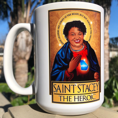 Saint Stacey The Heroic Coffee Mug-Coffee Mugs-Cleaverandblade.com