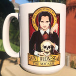 Saint Wednesday The Macabre Coffee Mug-Coffee Mugs-Cleaverandblade.com
