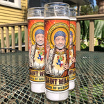 Saint Willie Lord of Weedville Candle-Candles-Cleaverandblade.com