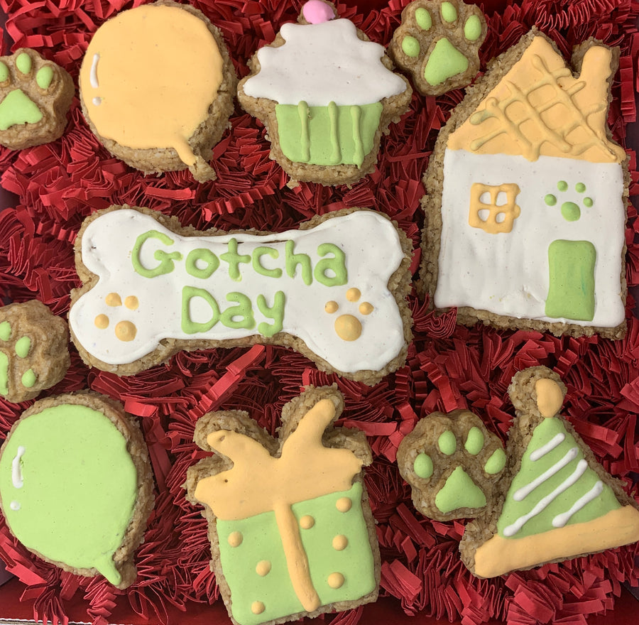 Happy Gotcha Day Cookie Box