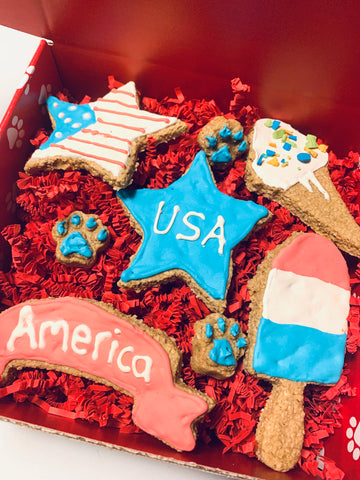 USA Cookie Box