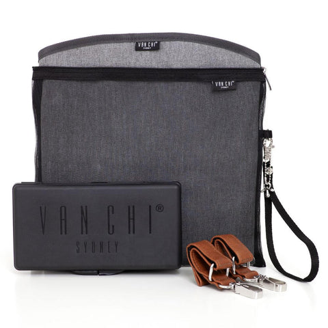 VANCHI Manhattan Backpack Accessories Kit