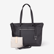 NEW! Billie Convertible Backpack & Vegan Leather Crossbody Bag - Black Bundle