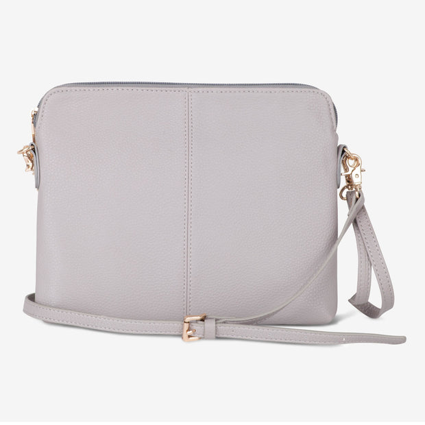 VANCHI Cross Body Clutch - Dove Grey