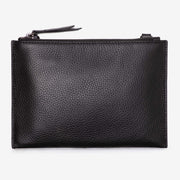 NEW! Leather Pouch - Black