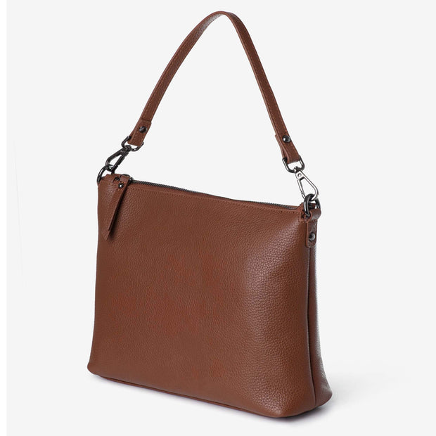 NEW! Everyday Leather Crossbody Bag - Tan