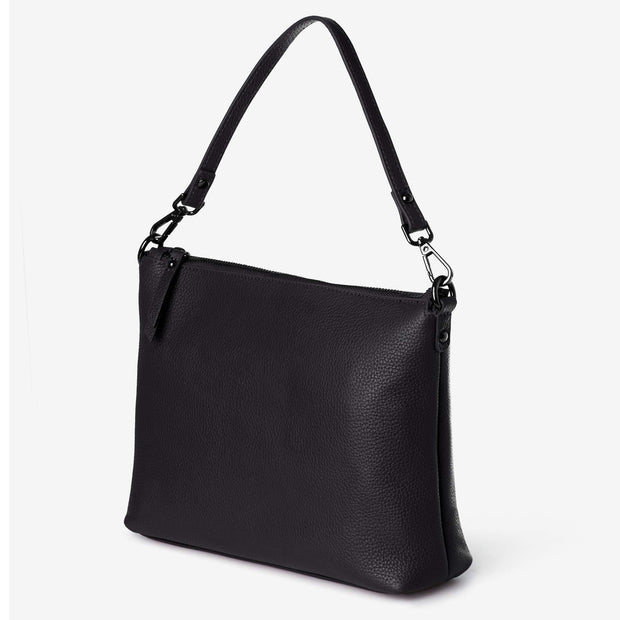 NEW! Everyday Leather Crossbody Bag - Black