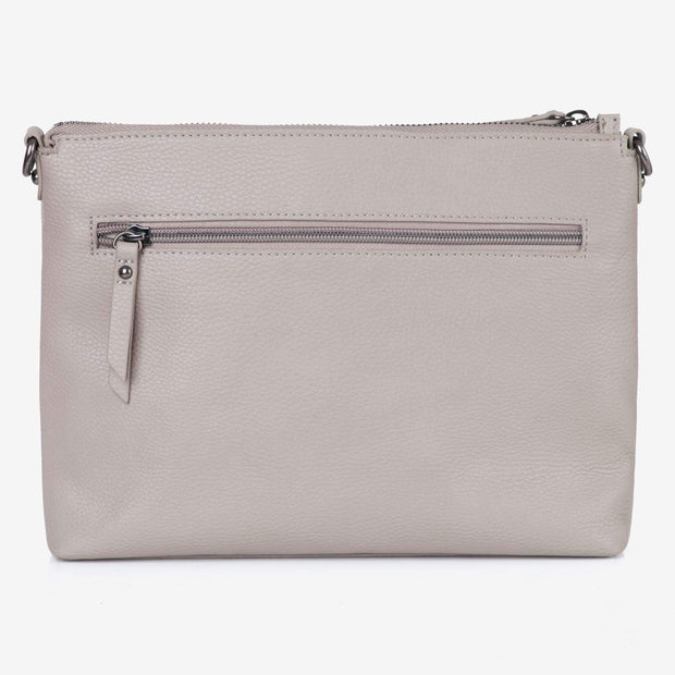 NEW! Vegan Leather Everyday Crossbody Bag - Barcelona Grey