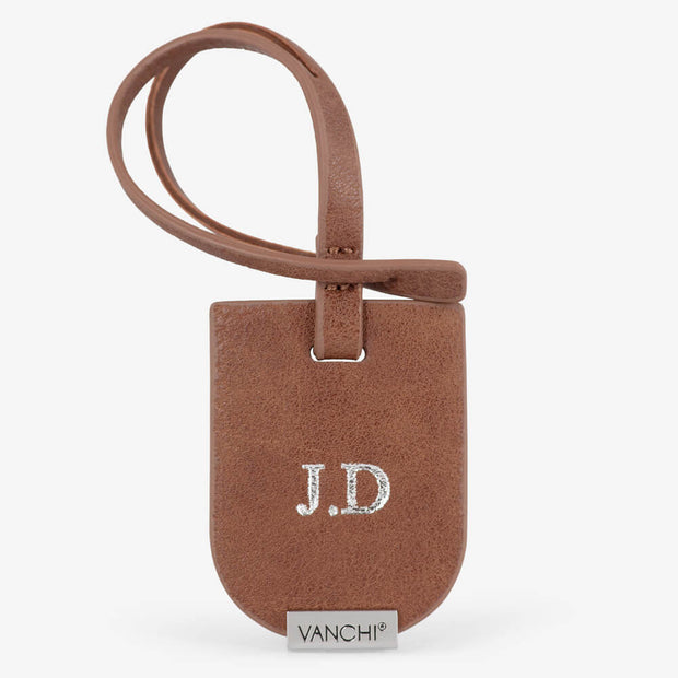 VANCHI Luggage Tag - Tan