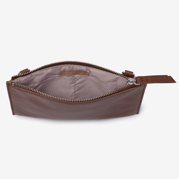 NEW! Leather Pouch - Tan