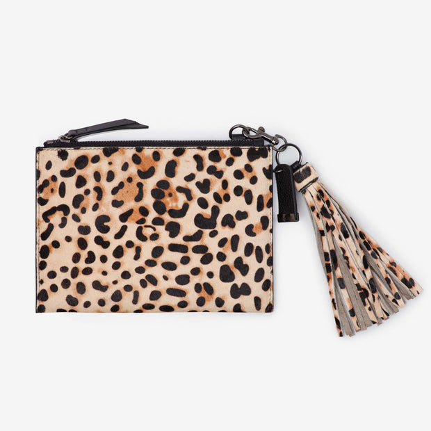 NEW! Leather Pouch - Leopard