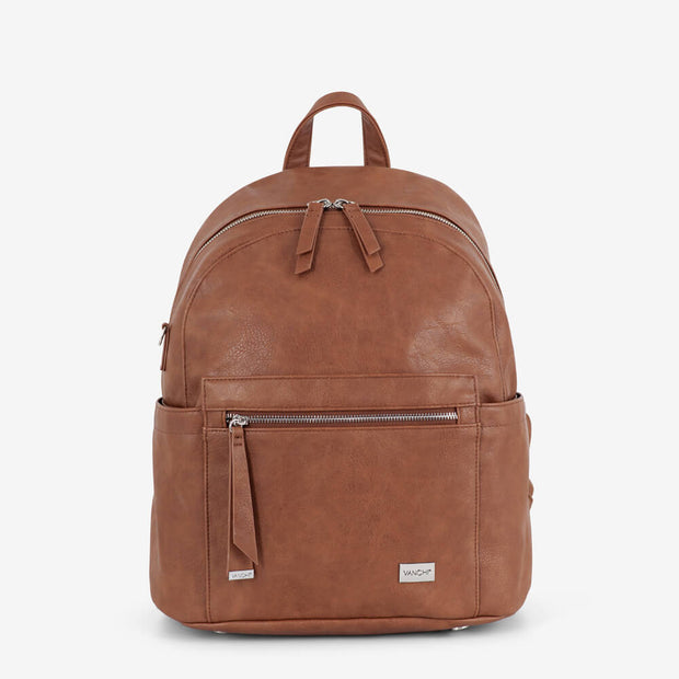 Manhattan 2-Way Backpack Nappy Bag - Tan