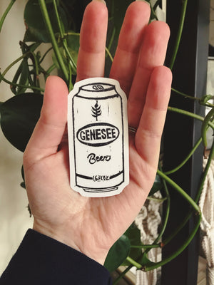 Genesee Beer Sticker