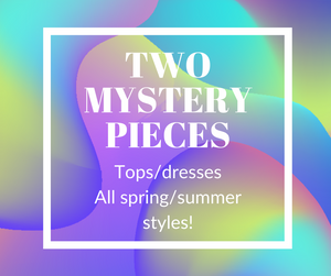 Mystery bundle of 2 spring/summer pieces