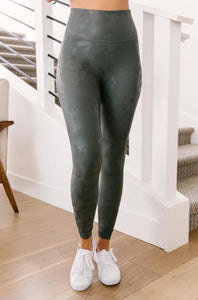 Brush of Metal Leggings