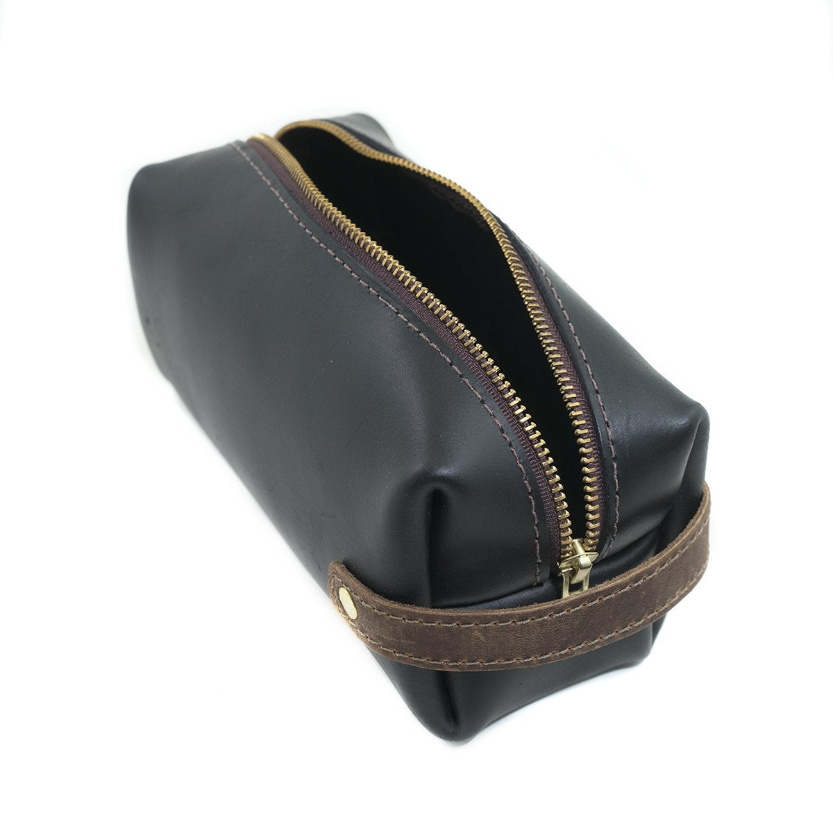 High Line Medium Black Leather Pouch