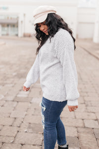 Off-One-Shoulder and So Simple Sweater