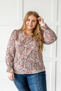 Perfect Pick Floral Top- Plus