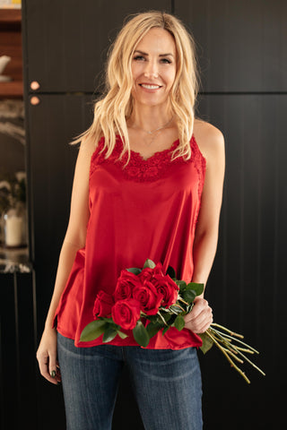 Roses and Satin Cami