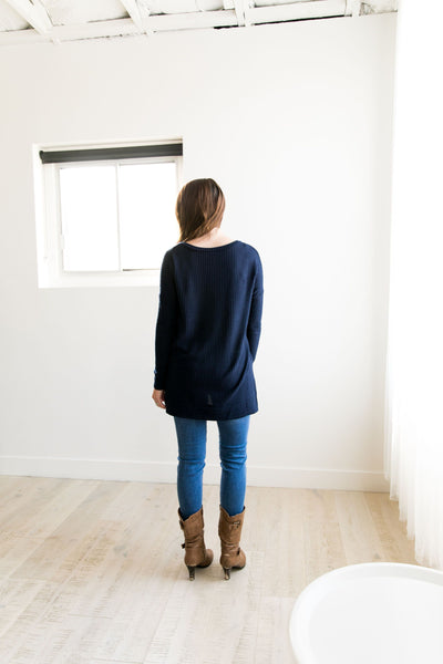 Thermal Tunic In Navy