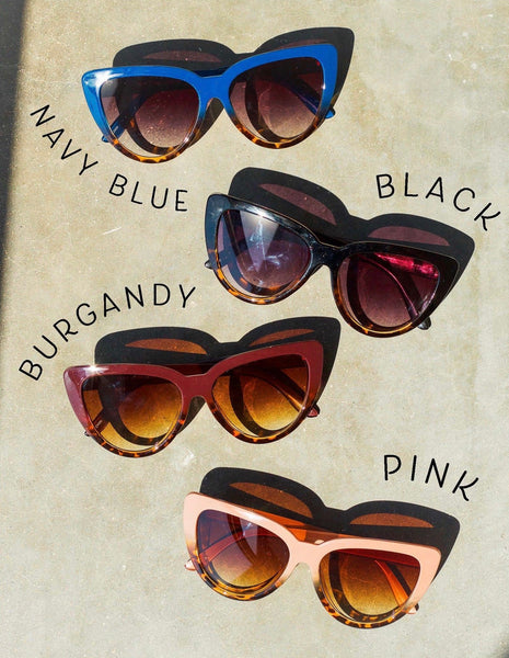 Alluring Cat Eye Sunglasses