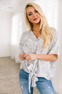 Aloha Button Down Blouse