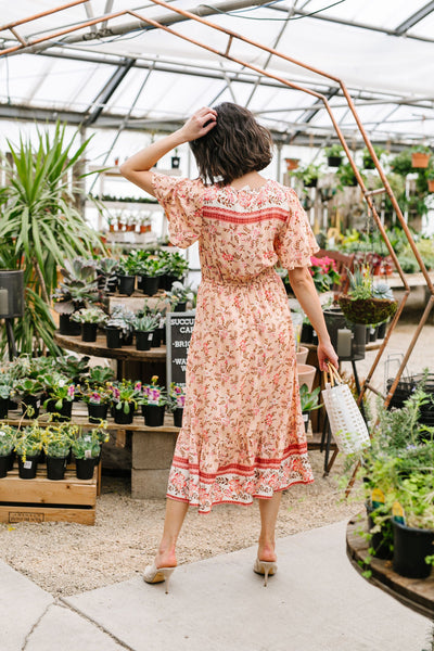 Blooming Beauty Midi Dress