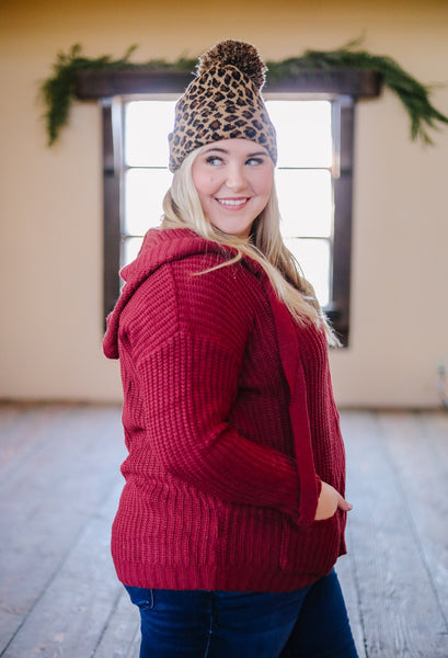 Cranberry Sweater Hoodie