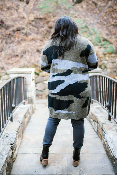Lock & Load Camo Cardigan