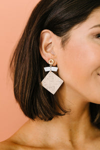 Put A Cork In It Earrings