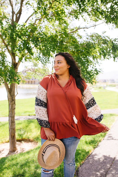 Beyond Boho Blouse