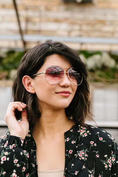 Sunset Aviator Sunnies Style #2