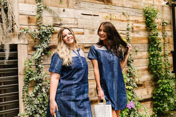 Wannabe Denim Dress