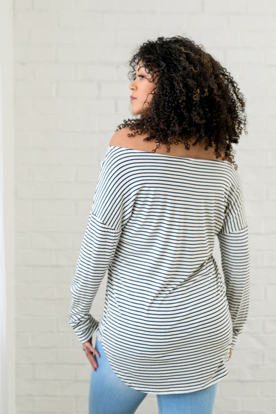 Wear It Your Way Striped Top